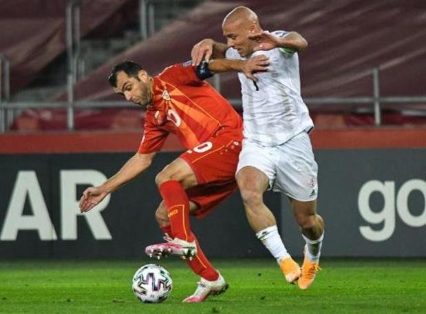 Euro2020: La Macédoine du Nord qualifiée pour le premier grand tournoi de son histoire