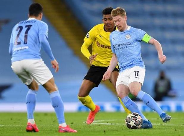 Ligue des Champions - Le Real prend une option, Manchester City s'impose dans le sillage de De Bruyne buteur