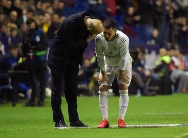 Belgen in het buitenland - Eden Hazard weer in de basis bij Real Madrid