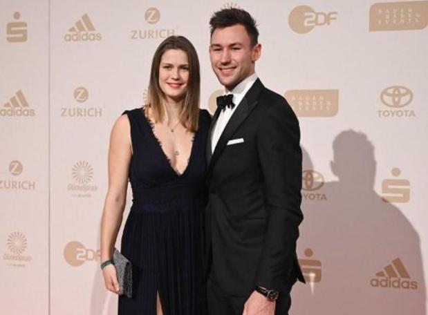 Atleten Niklas Kaul en Malaika Mihambo zijn Duits Sportman en -vrouw van het Jaar