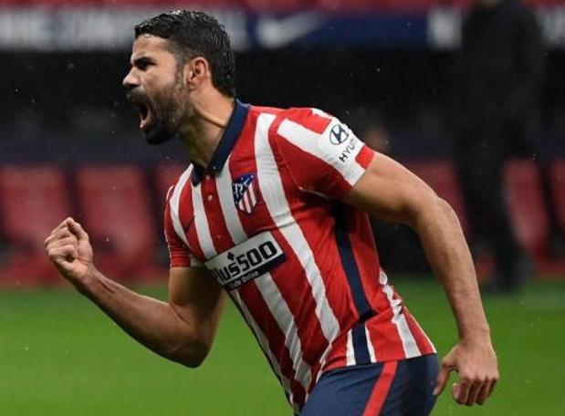 Atlético Madrid ontbindt het contract van Diego Costa om persoonlijke redenen