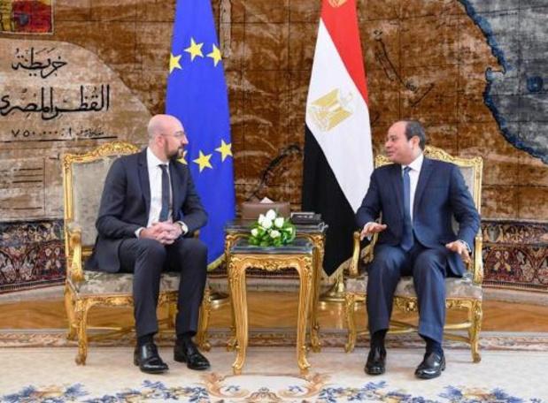Michel et al-Sissi d'accord sur la nécessité d'un règlement politique en Libye