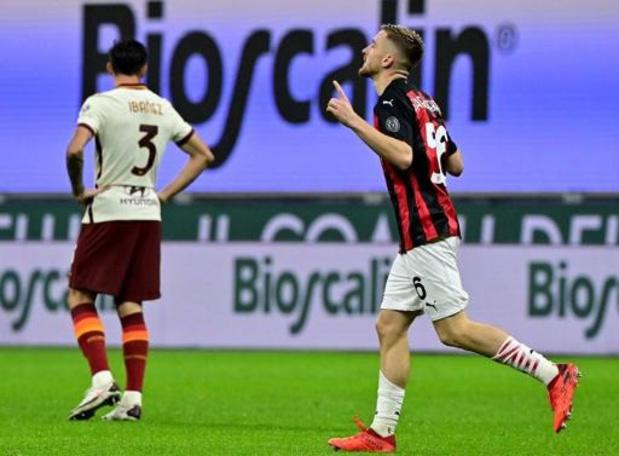 Belgen in het buitenland - Milan lijdt eerste puntenverlies ondanks treffer Saelemaekers, Spurs winnen bij Burnley