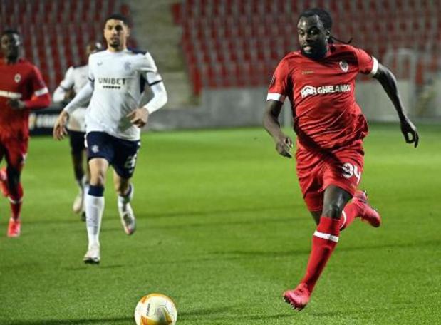 "Europa League - Jordan Lukaku baalt van vele tegengoals: ""Dit kan niet op Europees niveau"""