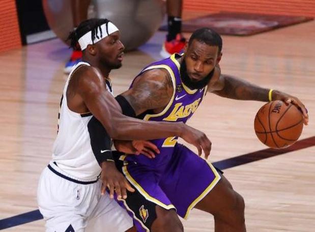 Les Lakers plus qu'à une victoire du sacre