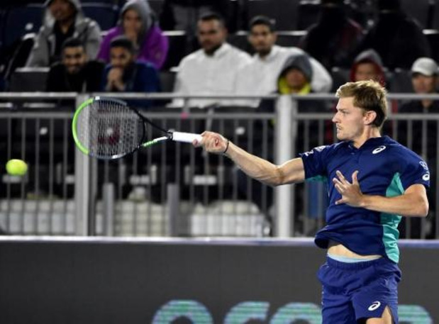 Diriyah Tennis Cup - David Goffin zet Lucas Pouille vlot opzij in openingswedstrijd