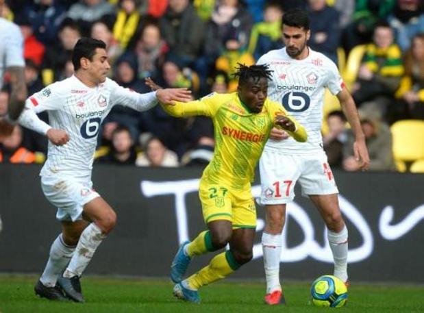 Moses Simon, ancien Gantois, élu Joueur de l'année par les fans du FC Nantes