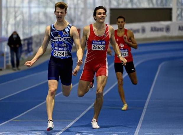 Championnats de Belgique d'athlétisme en salle - Alexander Doom gagne le 400m et bat son record personnel, Dylan Borlée 4e et déçu
