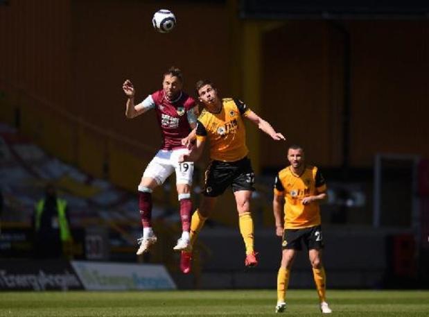 Wolverhampton en Dendoncker gaan zwaar onderuit tegen Burnley