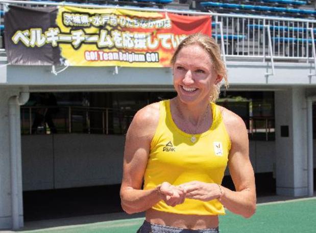 Hanne Claes aimerait être finaliste à l'occasion de ses premiers Jeux