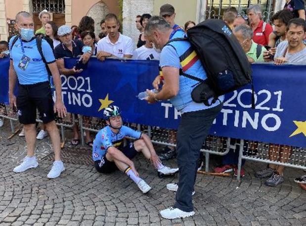 """EK wielrennen - Evenepoel: """"Ik ga me leegrijden voor Wout op het WK"""""""