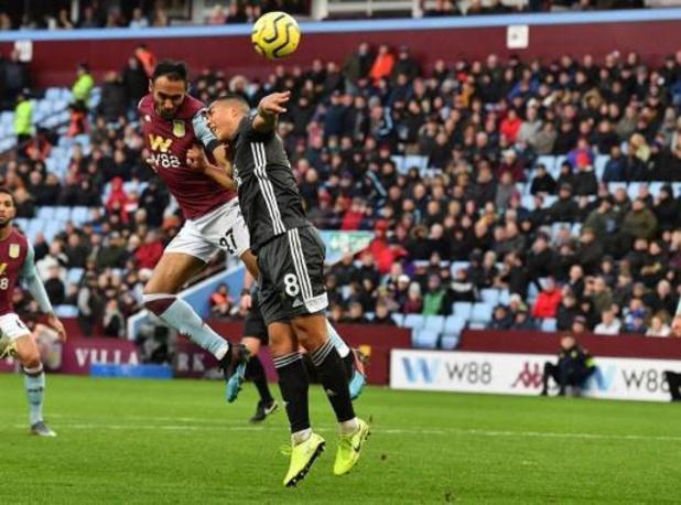 Les Belges à l'étranger - Leicester, vainqueur à Aston Villa, conforte son statut de dauphin actuel de Liverpool