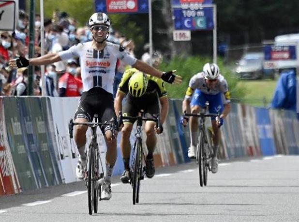 """""""Un sprint à la perfection"""" pour Matthews, Aimé De Gendt déçu d'avoir manqué le podium"""