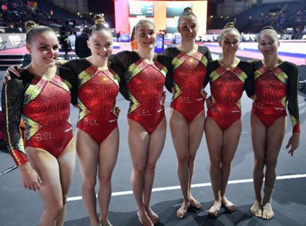 Belgische meisjes voeren stand aan na twee subdivisies