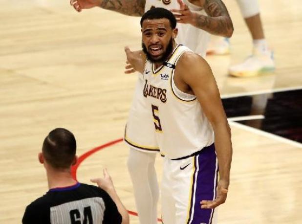 NBA - Lakers hebben sterren niet nodig in topper tegen Brooklyn