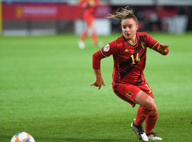 La Red Flame Davinia Vanmechelen de retour au Standard