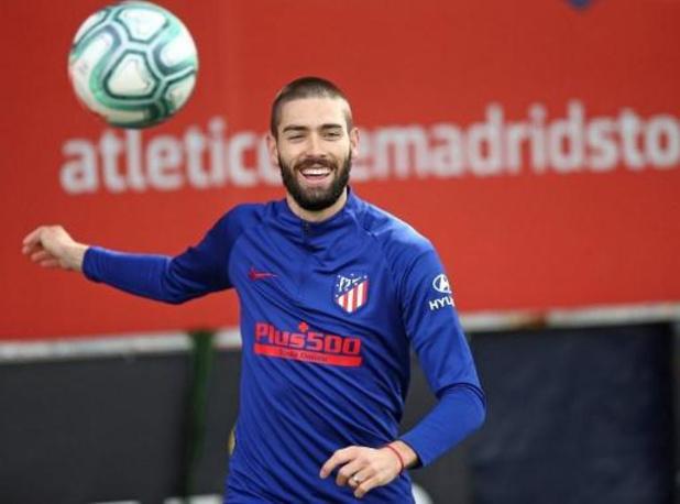 Les Belges à l'étranger - L'Atlético, avec un but de Carrasco, s'impose largement à Osasuna