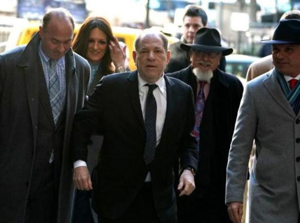 Verdediging stelt dat gevallen filmmagnaat Weinstein onschuldig is