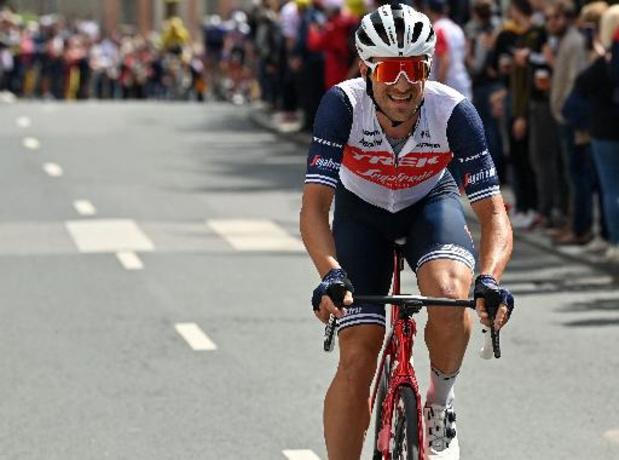 """Tour de France - Edward Theuns: """"Je suis content de ma performance"""""""