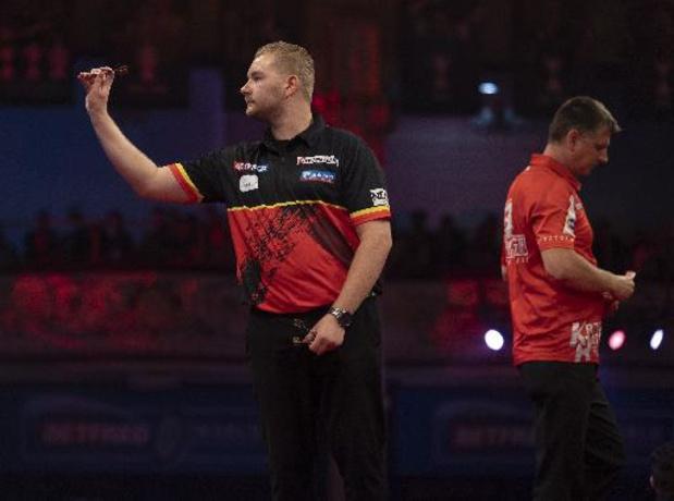 World Matchplay darts - Dimitri Van den Bergh voor tweede jaar op rij naar finale