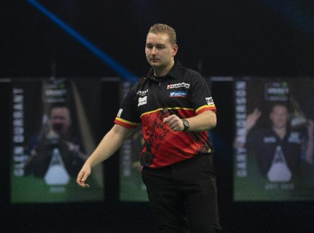 Premier League darts: Van den Bergh eindigt op tweede plaats in eerste fase Premier League