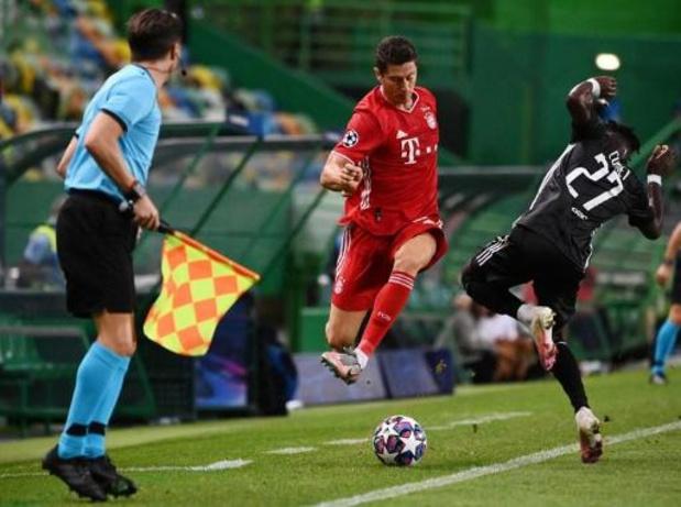 Belgen in het buitenland - Bayern rukt op naar finale na 3-0 overwinning tegen Lyon en Denayer