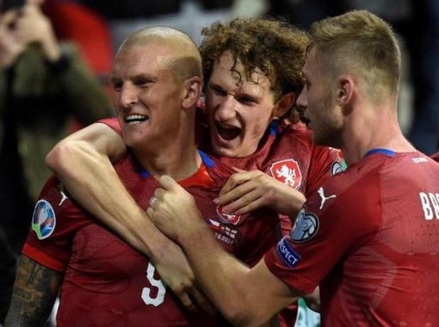 Kwal. EK 2020 - Engeland gaat onderuit in Tsjechië