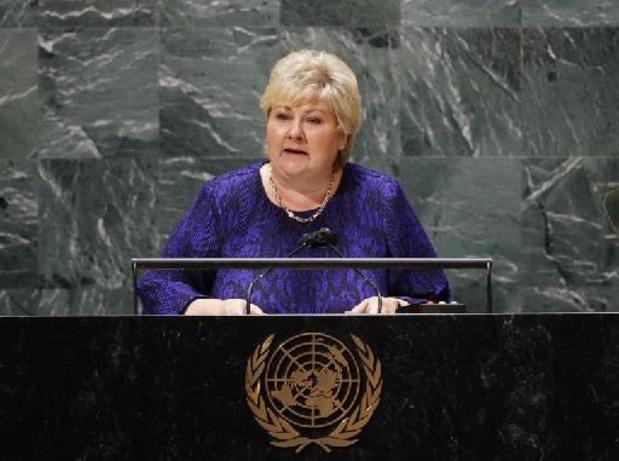Norvège: le gouvernement de droite a présenté sa démission