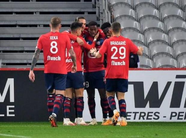 Ligue 1 - David scoort eindelijk zijn eerste goal voor Lille