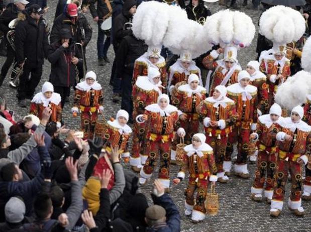 Bijna 100.000 bezoekers voor carnaval van Binche