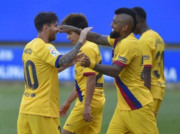 La Liga - Barça sluit seizoen af met forfaitcijfers tegen Alavés, Messi laat record sneuvelen