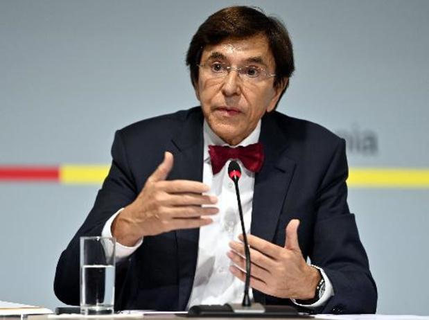 Elio Di Rupo en appelle à la solidarité fédérale suite aux inondations