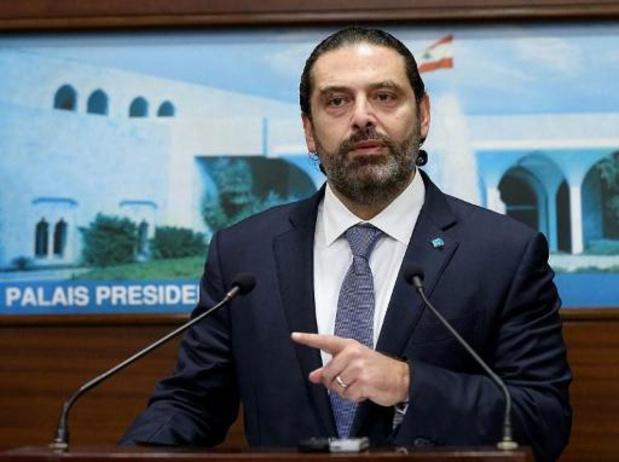 Libanese premier Saad Hariri kondigt ontslag aan