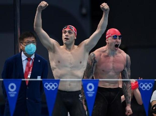 JO 2020 - Médaille d'or et record du monde pour les Britanniques dans le 4x100 m quatre nages mixte
