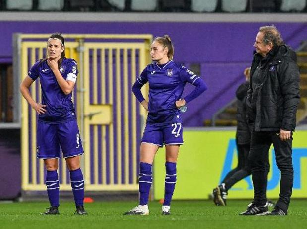 Super League - Première défaite de la saison pour le RSC Anderlecht