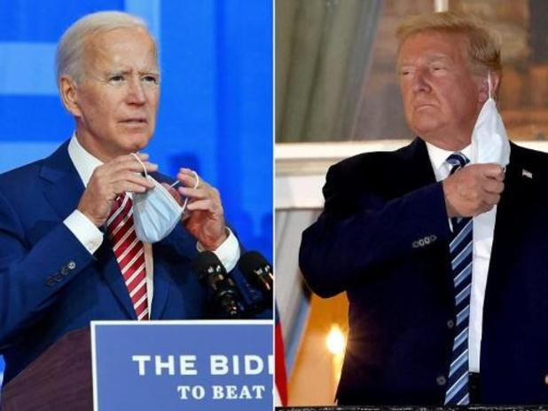Biden en Trump geloven beiden nog in overwinning, maar het blijft wachten op enkele staten