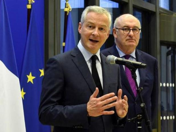 """Taxation du numérique: Paris et Washington se donnent """"15 jours"""" pour trouver un compromis à l'OCDE"""