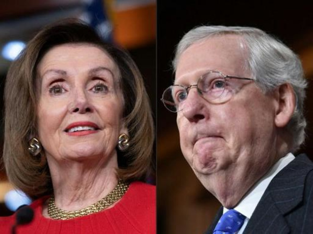 Huizen van leiders Amerikaanse Congres gevandaliseerd