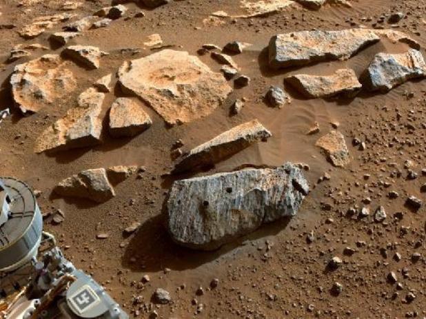 Les échantillons de roche prélevés par Perseverance sur Mars probablement volcaniques