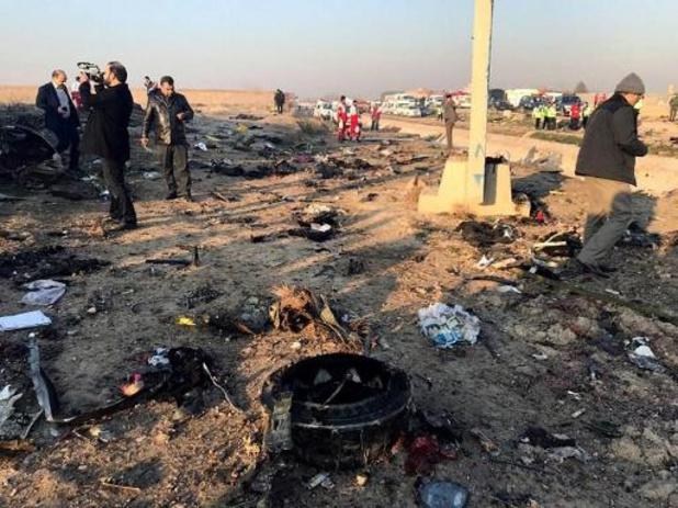 """Iran: """"Boeing niet door raket geraakt"""""""