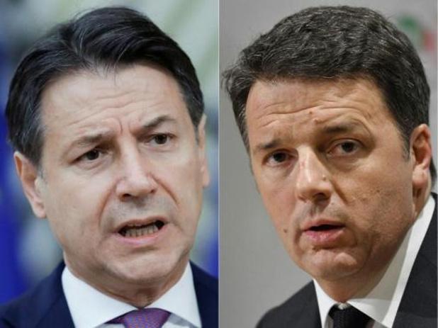 Le plan de relance en suspens sur fond de crise politique en Italie