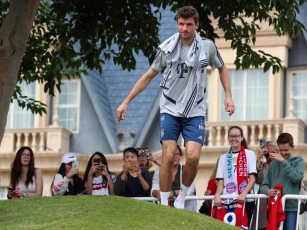 Duitse voetbalbond doet deur helemaal dicht voor Thomas Müller