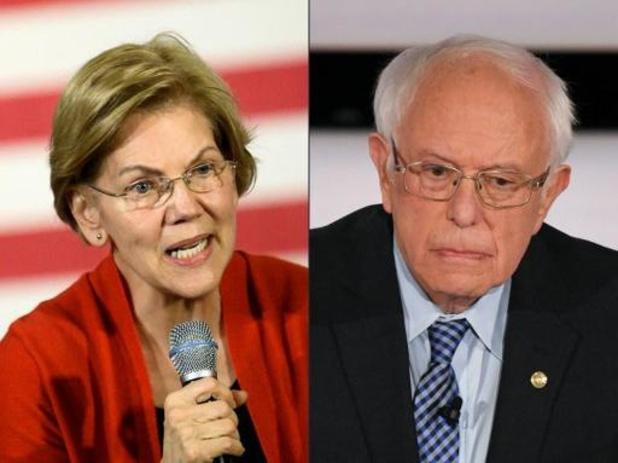 Biden houdt Sanders en Warren in de Amerikaanse Senaat