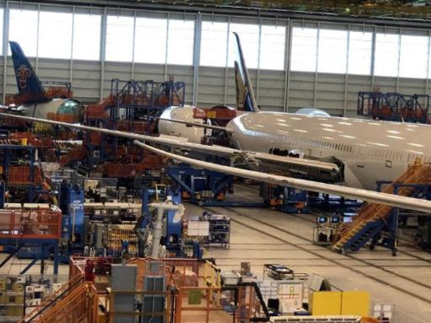 Coronavirus - Productie van Boeing 787 hervat begin mei