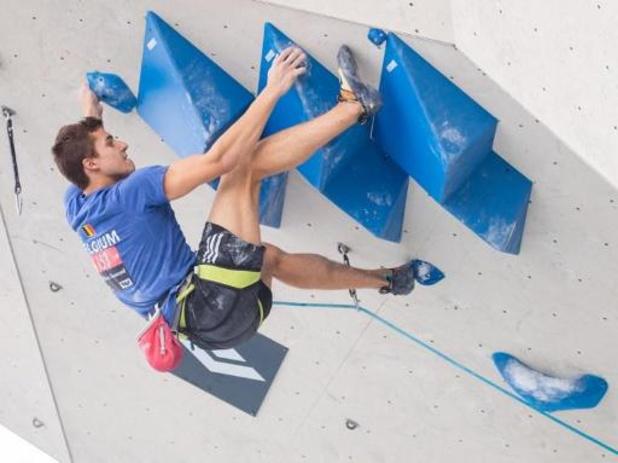 Championnats d'Europe d'escalade - Nicolas Collin prend la 13e en vitesse, Chloé Caulier 14e chez les dames