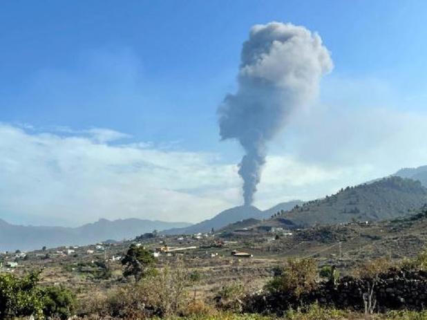 Lavastroom plotseling gestopt na uitbarsting van acht dagen
