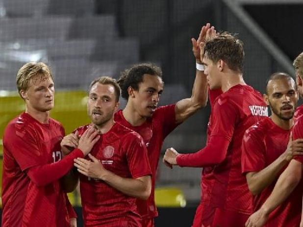 Diables Rouges - Le Danemark, adversaire de la Belgique à l'Euro, partage contre l'Allemagne