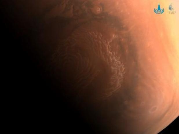 La Chine est parvenue à poser un petit robot sur Mars