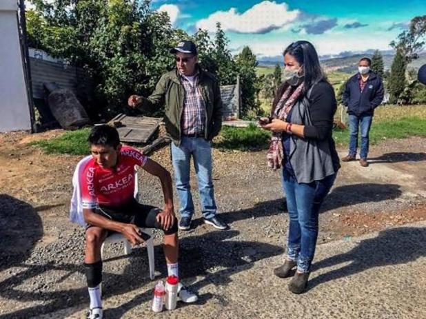 Pas de fracture pour Nairo Quintana, indisponible deux semaines