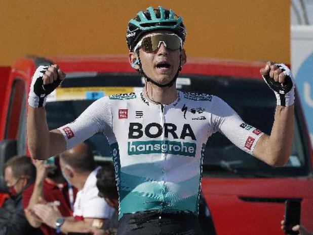 Tour de France: l'Allemand Lennard Kämna très probablement forfait